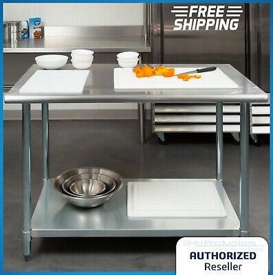 30 X 48 Stainless Steel Work Prep Table With Undershelf Kitchen Restaurant Nsf
