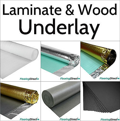 Wood Laminate Flooring Underlay Gold Acoustic Silver Xps