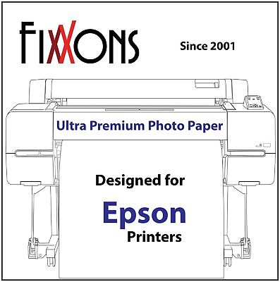 Ultra Premium Luster Inkjet Photo Paper  36