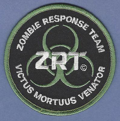 RESIDENT EVIL ZOMBIE RESPONSE TEAM VICTUS MORTUUS VENATOR PATCH