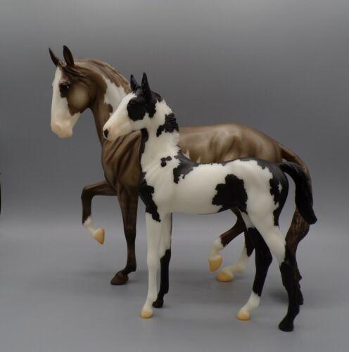 Breyer Julep & Pim Lipizzan Mare & Foal 2018 Breyerfest SR #711288