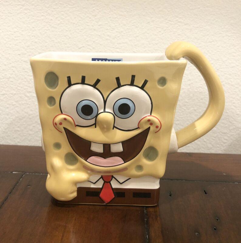 Spongebob SquarePants Rectangular Ceramic Mug