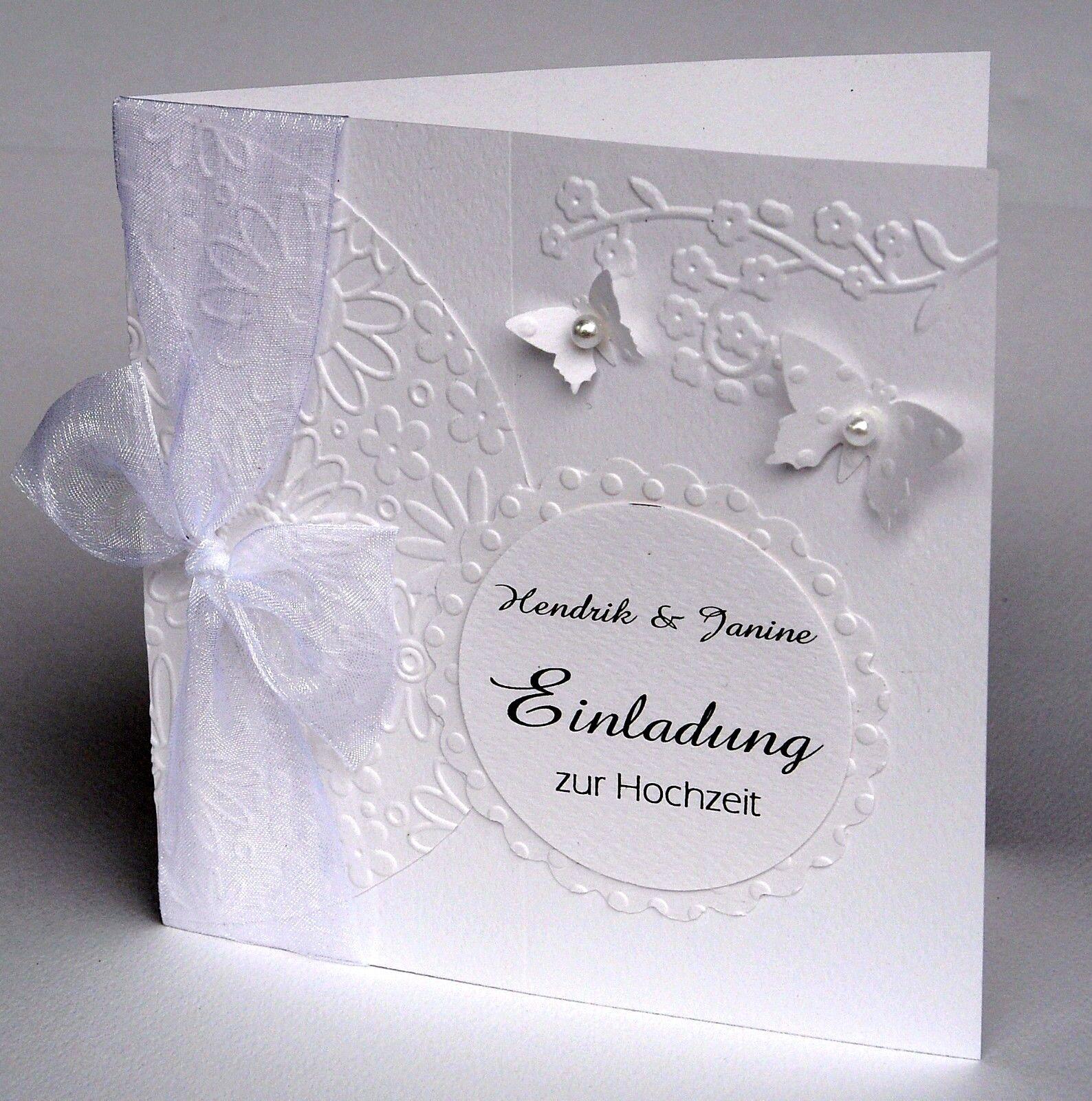 PERSONALISIERTE Einladungskarte Hochzeit Taufe Kommunion Konfirmation H28