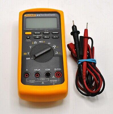 Fluke 87 V True Rms Multimeter With Leads
