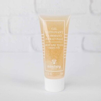 SISLEY BUFF AND WASH FACIAL GEL ● GENTLE DAILY EXFOLIATING CLEANSER 10ML X 2