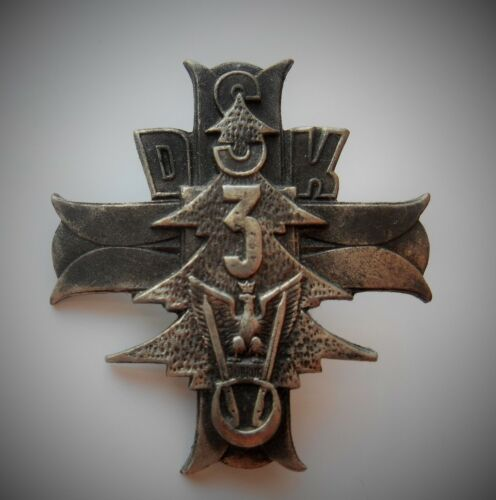Polish Army in Exile WW2 - PSZ 3d Karpacka Rifle Division 2d Corps badge