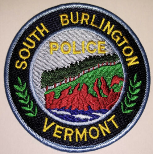 South Burlington Vermont Police Patch // FREE US SHIPPING!