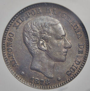 10-CENTIMOS-1878-ENCAPSULADA-AU55-EXCELENTE-CONSERVACIoN