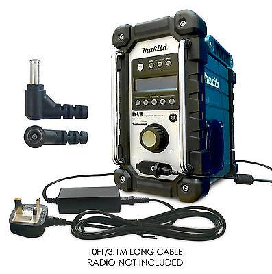 SE00000066 12v 12 VOLT AC DC Power Supply Adapter Plug for Makita Job Site Radio