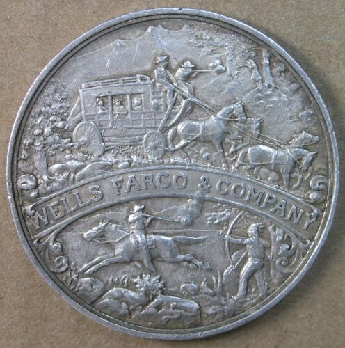 1902 Wells Fargo Semicentennial Silver So-Called Dollar HK-296 AU * AvenueCoin