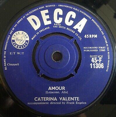 "Caterina Valente - Till UK 1960 7"" Decca Recs"