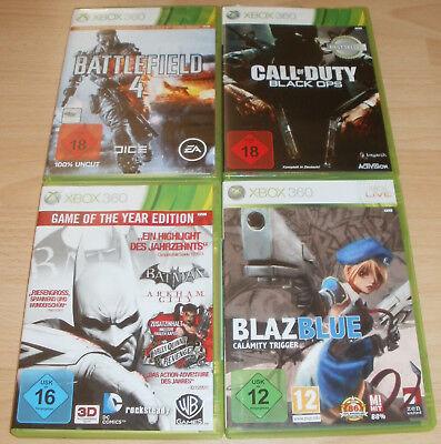 Xbox 360 - Spiele Sammlung USK 16 -18 - Battlefield, Call of Duty, Batman