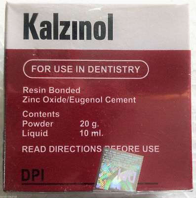 Dpi-kalzinol Temporary Dental Non-resin Filling Cement Zinc Oxideeugenol Base