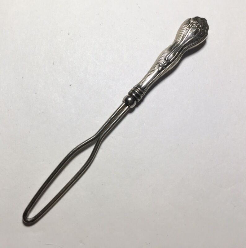Antique Sterling Glove/Button Hook