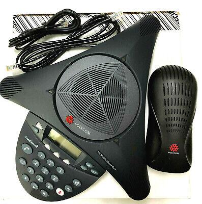 Polycom Soundstation 2 Ex Conference Phone Station 2200-16200-001 Fully Refurb