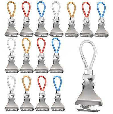 8 - 40 Stück Handtuch Clips Handtücher Geschirrtücher aufhängen Aufhänge Clips