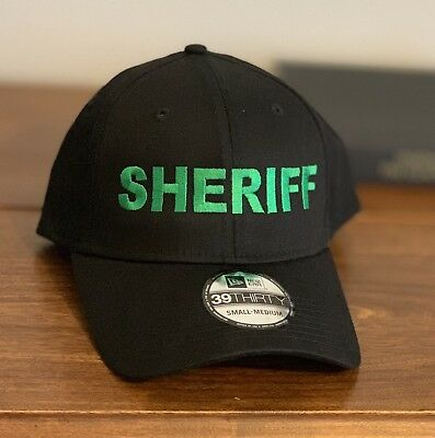 finest selection 9bfe7 94ab4 New Era 39thirty Small Medium Sheriff Cap