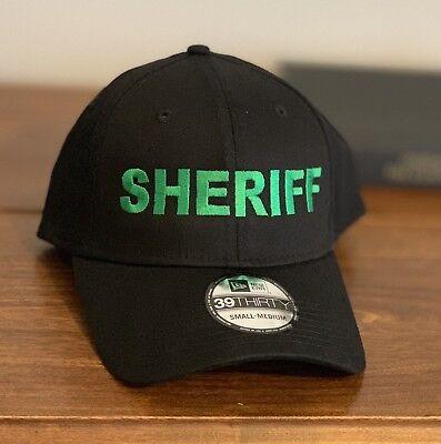 11c3eeac802 New Era 39thirty Small Medium Sheriff Cap
