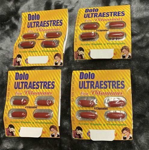 Dolo Ultraestres Con Vitaminas 4 Sobres (16 Capsulas)