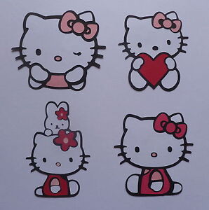 Hello Kitty Scrapbook Die-Cuts!  Ready and Assembled!