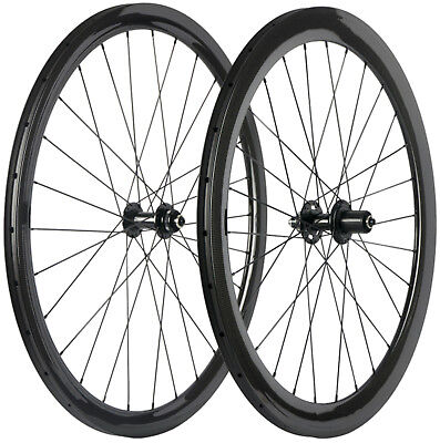 Disc Brake Carbon Road Wheels 38/50/60/88mm Clincher/Tubular 6 Bolt/Center Lock