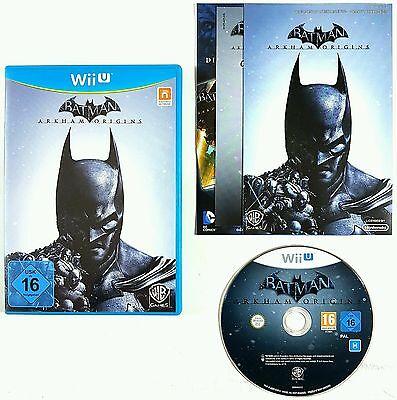 Nintendo Wiiu Juego Batman Arkham Origins Alemana Pal Emb.orig segunda mano  Embacar hacia Argentina