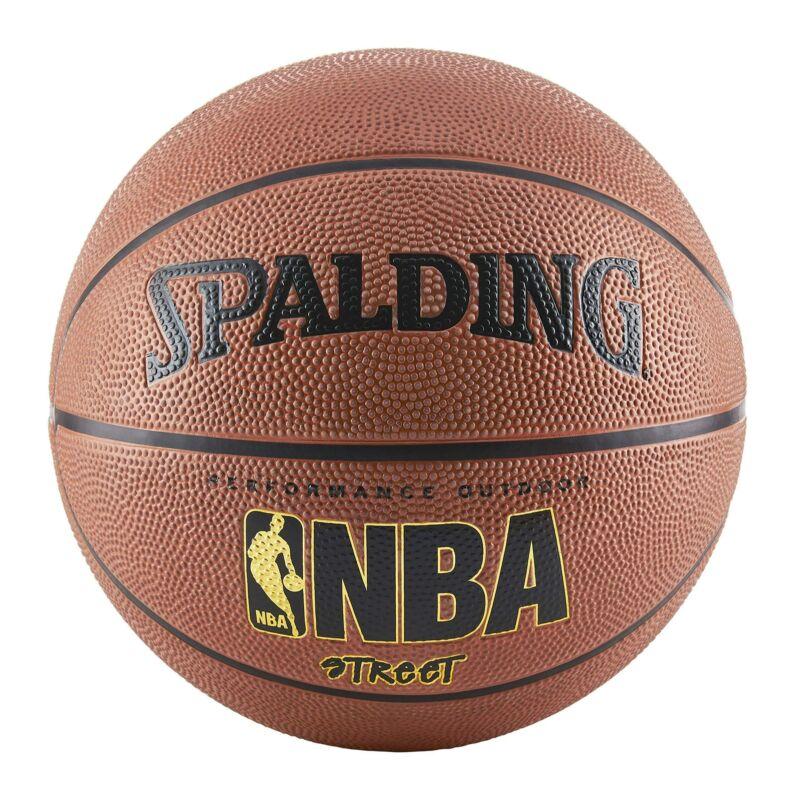"Spalding NBA Basketball Street Ball Indoor Outdoor Official Size-7 29.5"" Brown"