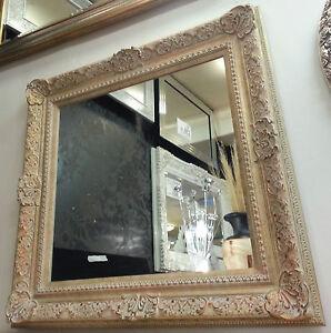Stile antico color panna oro ornato design vintage for Specchio stile antico