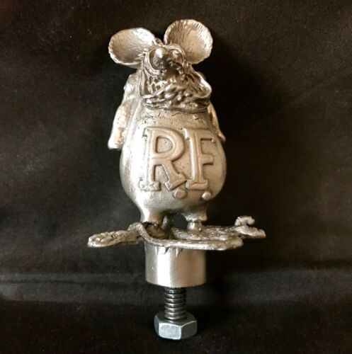 OLD SKOOL VINTAGE RAT FINK RARE /HOOD ORNAMENT /MASCOT /RAT ROD HOT ROD/ BIKE