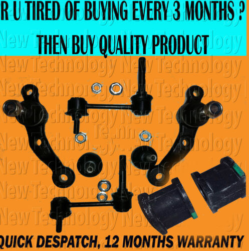 FOR IS200 IS300 ALTEZZA 98> FRONT UPPER LOWER BALL JOINT STABILIZER LINK BUSHES