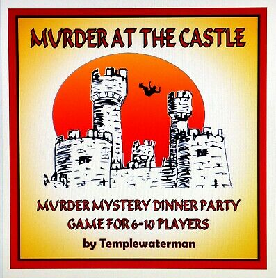 ORROR MURDER MYSTERY DINNER PARTY GAME - FOR 6-10 PLAYERS (Halloween Murder Mystery Party)
