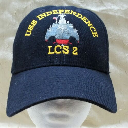 USS Independence LCS 2 Hat Adjustable Cap United States Navy USN