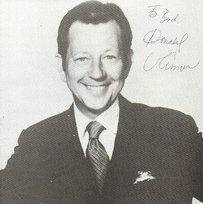 d15f487e DONALD O'CONNOR - Actor - Singin' in the Rain - Autograph Program Picture