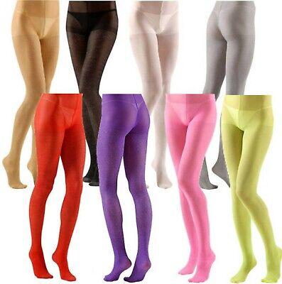 Glitter Sparkle Tights Pantyhose 40 Denier 8 Colors + 2 Sizes Normal & XL Plus (Glitter Tights Plus Size)