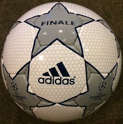 a75b0e5eed342 adidas UEFA Champions League Finale 2001-2002 Grey Star size 5