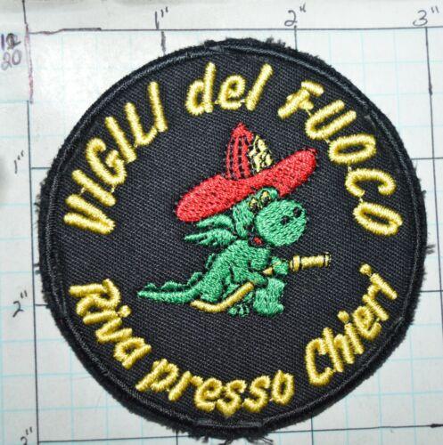 ITALY, VIGILI DEL FUOCO FIRE DEPT RIVA PRESSO CHIERI PATCH