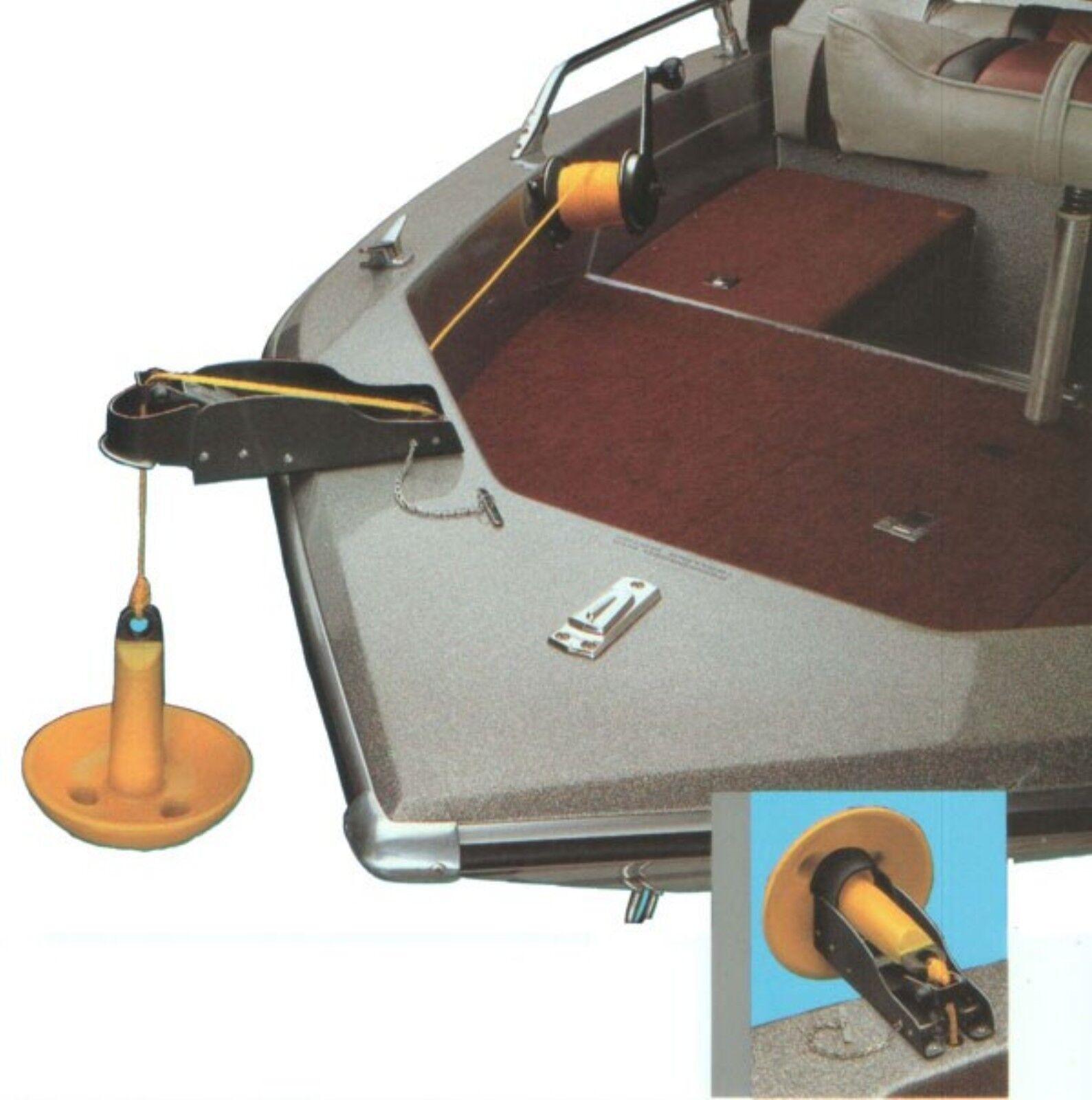 механизм подъема якоря на лодке пвх