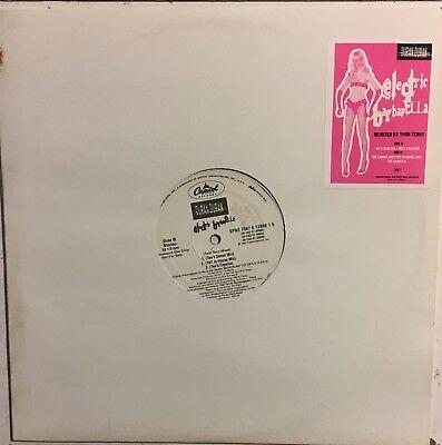 "DURAN DURAN Electric Barbarella 12"" Promo Single VG+ Vinyl Record 1997 Capitol"