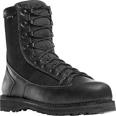 Danner Stalwart 8in Mens Black Nylon/Leather GTX Uniform Boots Danner Mens Uniform Boots