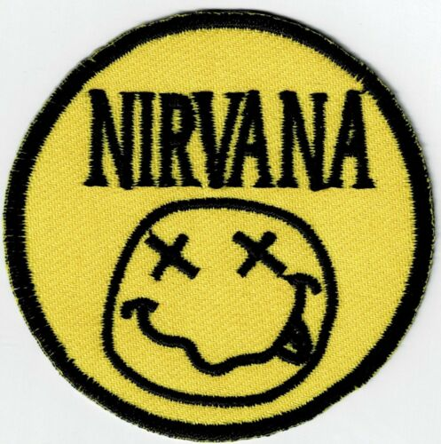 NIRVANA - IRON or SEW-ON PATCH