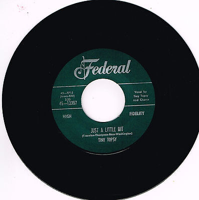 TINY TOPSY – JUST A LITTLE BIT / EVERYBODY NEEDS SOME LOVING (Northern Soul R&B)