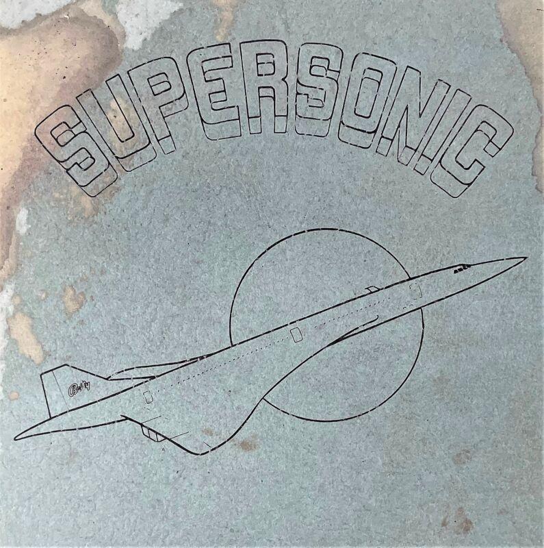 Bally Supersonic Pinball Game Manual Schematics BONUS Electronic Repair 560-1