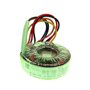 2X9V 30Va High Quality Open Style Toroidal Transformer Thermal Fuse New