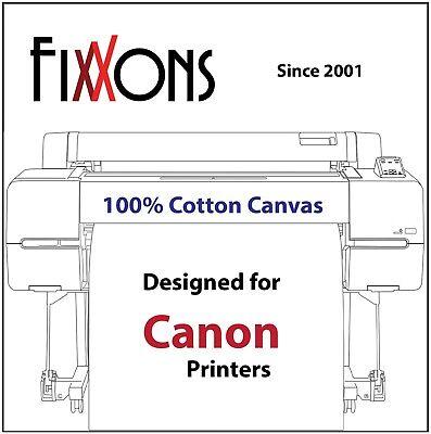Ultra Premium Inkjet Cotton Canvas Matte For Canon 24