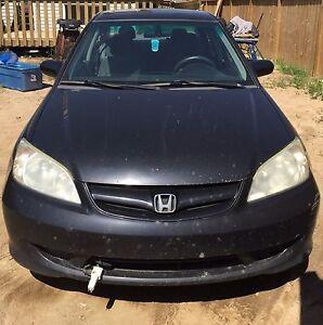Honda civic car 2005 no OBO