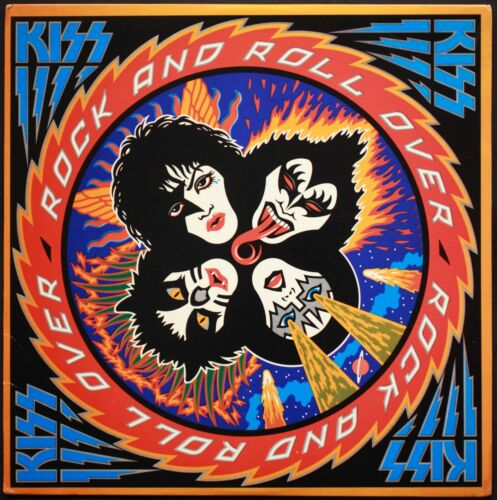KISS Rock and Roll Over BANNER HUGE 4X4 Ft Fabric Poster Tapestry Flag album art
