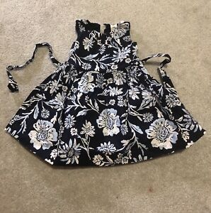 Toddler dress in navy blue $7 only