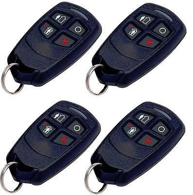 4 Honeywell Ademco 5834-4 Four-Button Wireless Key Remotes