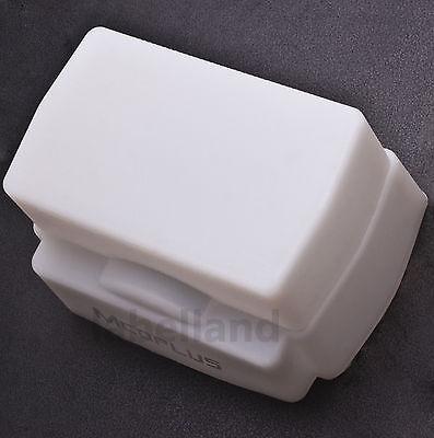 Universal Silicone White Flash Dome Diffuser for Nikon Sony Sigma Sunpak Vivitar
