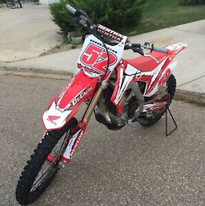 2015 CRF450R   58.9 hours